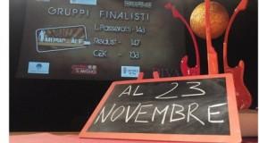 """I NOMI DEI FINALISTI DEL """"MUSIC… ALE 2013"""". CONCLUSE LE SEMIFINALI, L'APPUNTAMENTO E' FISSATO A CASCINE PER LA FINALISSIMA DI SABATO 23 NOVEMBRE."""