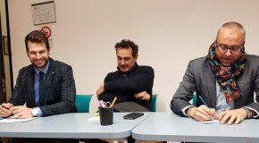 Incontro tra Matteo Franconi – candidato alle primarie del centro-sinistra di Pontedera – e Confesercenti
