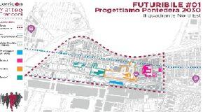 Riorganizzazione del quartiere della stazione a Pontedera. Matteo Franconi ha illustrato le proposte e gli strumenti per attuarle