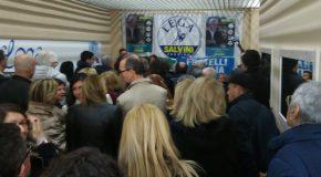 L'avvocato Giuseppe Brini presentato ufficialmente alla  stampa ed ai numerosi sostenitori