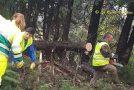 """Emergenza maltempo, volontari de """"La Racchetta"""" bloccati dalle autorità."""