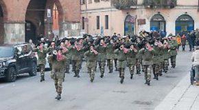 Domenica raduno a Pontedera delle fanfare dei bersaglieri