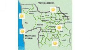 PREVISIONI DEL TEMPO PER DOMENICA 17 LUGLIO: SOLE, TEMPERATURE IN AUMENTO, VENTI DEBOLI O ASSENTI OVUNQUE