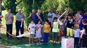 Inaugurazione del campino polivalente di Cevoli (Vicopisano)