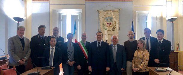 Visita del Prefetto Giuseppe Castaldo nel Comune di Vicopisano