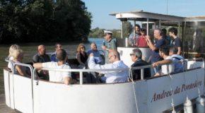 Pontedera: da sabato 14 luglio ripartono le escursioni del battello fluviale