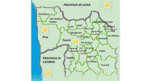 GRECALE IN CALO DAL PRIMO POMERIGGIO DI OGGI. SI PREVEDE UN WEEK – END DI SOLE, DI MARE E DI… PALIO !!!