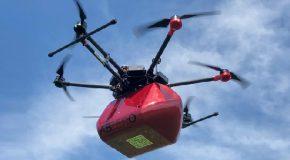 "Pontedera presenta il drone ""salvavita"""