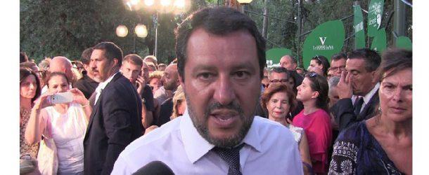 Bocelli canta con Salvini