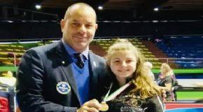 La giovanissima Emma Frizzi sfiora il titolo italiano di kumite !