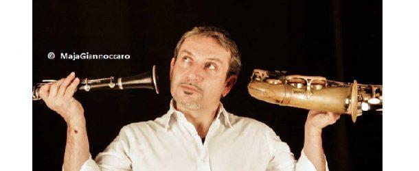 Nico Gori sul palco del Lumiere – Pisa – il 23 dicembre
