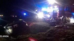 Auto nel fossato, muore giovane di 27 anni a Santa Maria a Monte