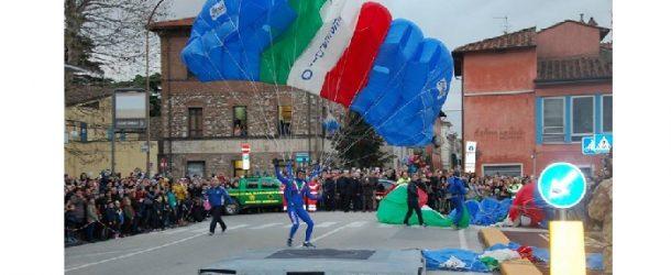 La Befana dei Paracadutisti a Cascina, 6 gennaio 2018