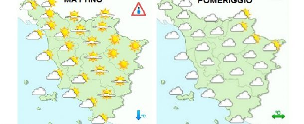 Previsioni meteo per domani, mercoledì 28 febbraio