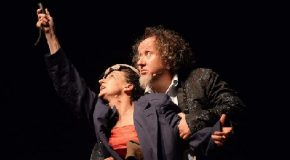 """Repliche, a Bientina e Casciana terme, di """"Romeo e Giulietta stanno bene! Amore contro tempo""""  La novità sul palco dedicata al tema dell'amore al """"Teatro Liquido"""""""