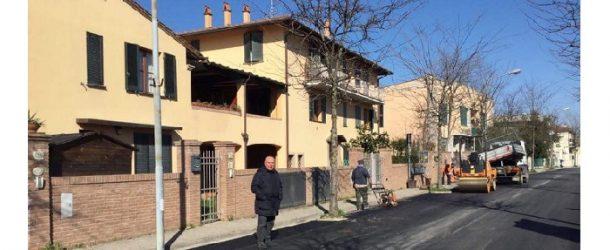 Completata l'asfaltatura di Via Magellano a San Giovanni alla Vena