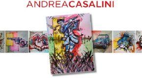 Vico Vitri arte 2018. XVII ediz. di esposizioni a Calcinaia, la pittura di Andrea Casalini