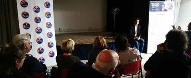 """Latrofa a Riglione parla di sicurezza, illuminazione pubblica, e conferma il secco """"NO"""" a CanaPisa"""