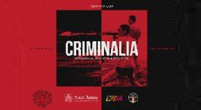 Criminalia – Economia, società e politica, ciclo di incontri al Teatro Lux