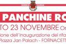 Installazione in piazza Jan Palach a Fornacette – Inaugurazione 23 novembre