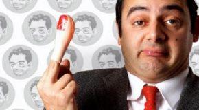Arnaldo Mangini, sosia di Mr. Bean, al Teatro Verdi di Casciana terme