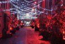 Il progetto di arte urbanaRay of Lightproseguirà fino a metà febbraio