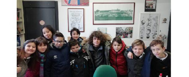 """Due classi delle elementari di Calcinaia """"un giorno in comune"""""""