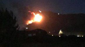Catastrofe sul Serra, sta bruciando tutto il monte !
