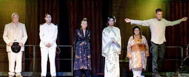 """Scenica Frammenti raccontala """"fiaba"""" di Madama Butterfly"""