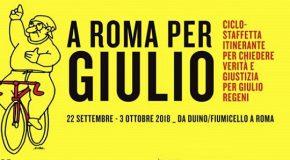 Pontedera si mobilita per Giulio Regeni