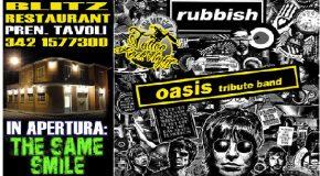 Week – end al Blitz: Oasis e Negramaro