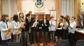 """Festeggiati in Comune i 170 anni della Filarmonica municipale """"Puccini"""""""