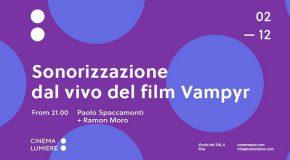 Sonorizzazione dal vivo del film 'Vampyr'