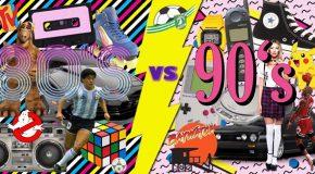 """""""80S VS. 90S – IL MUSICAL"""". GIOVEDI' 13 APRILE AL TEATRO ERA (PONTEDERA), ORE 21:30"""