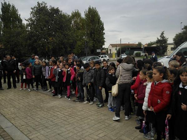 """I bambini dell'istituto """"Iqbak Masih """" di Bientina"""