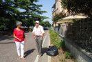 """L'AFA D'AGOSTO NON FERMA BRUNO:  AIUOLE BELLE E CURATE GRAZIE ALL'INSTANCABILE """"GIARDINIERE"""""""