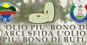 """BUTI CONTRO CALCI. BATTAGLIA A COLPI DI """"OLIO BONO""""."""