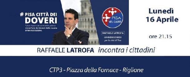 Raffaele Latrofa incontra i cittadini