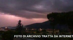ALLERTA METEO REGIONALE DI LIVELLO GIALLO