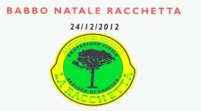 "CASCINA: BABBO NATALE ""RACCHETTA"""