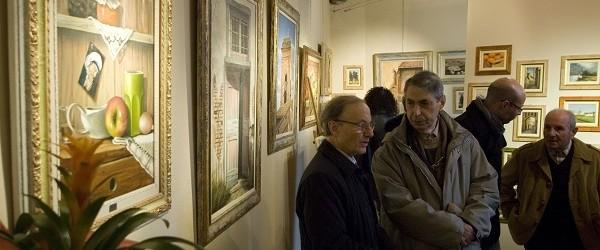 """""""L'ESSENZA DEL MOMENTO"""". PERSONALE DI GINO NENCIONI A PERIGNANO (GALLERIA """"L'ANGOLO"""")."""