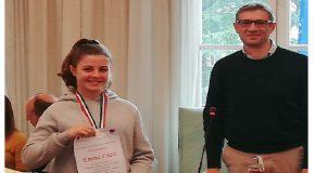La giovane Emma Frizzi premiata in consiglio comunale