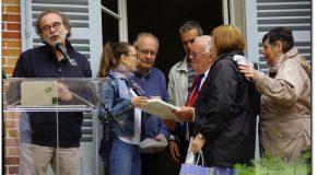 CALCINAIA E FORNACETTE PRESENTI ALLA FESTA DELL'EUROPA DI AMILLY (FRANCIA)