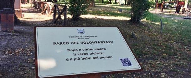 """VICOPISANO INAUGURA IL """"PARCO DEL VOLONTARIATO"""""""