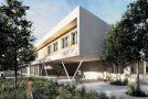 La posa della prima pietra della nuova scuola di Calcinaia