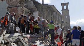 TERREMOTO IN CENTRO ITALIA: COME MUOVERSI E CHE COSA DONARE