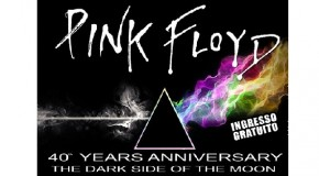 "IL 40° ANNO DALLA PUBBLICAZIONE DI ""THE DARK SIDE OF THE MOON"" MERITA UNA SERATA SPECIALE: TRIBUTO AI PINK FLOYD AL BLITZ"