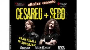 LA NOTTE DELLE CHITARRE ELETTRICHE: CESAREO (ELIO E LE STORIE TESE) + SEBO