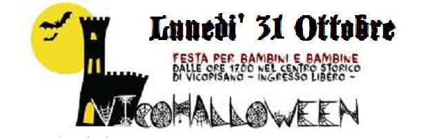 """LUNEDI' 31 OTTOBRE TORNA """"VICO – HALLOWEEN"""". GRANDE FESTA NEL BORGO PER ADULTI E BAMBINI"""