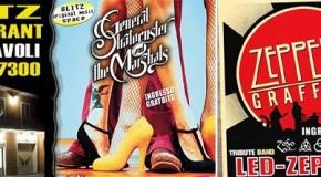 VOGLIA DI HEAVY METAL CON GLI ZEPPELIN GRAFFITI VENERDI' 10 GENNAIO AL BLITZ LIVE MUSIC PUB !!!